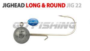 Long & Round Jighead - Jig22