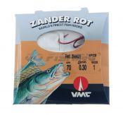 вързани куки 9902 Zander Rot